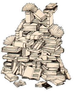 Grafik von Büchern